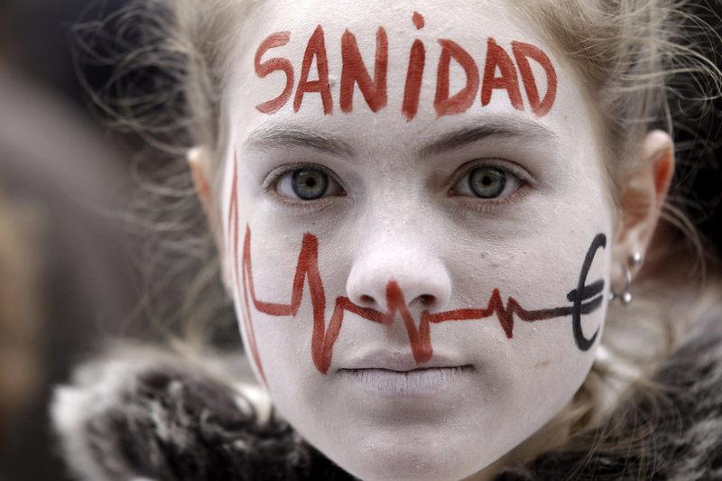 sanidad, madrid, reforma sanitaria, marea blanca, movimiento humanista
